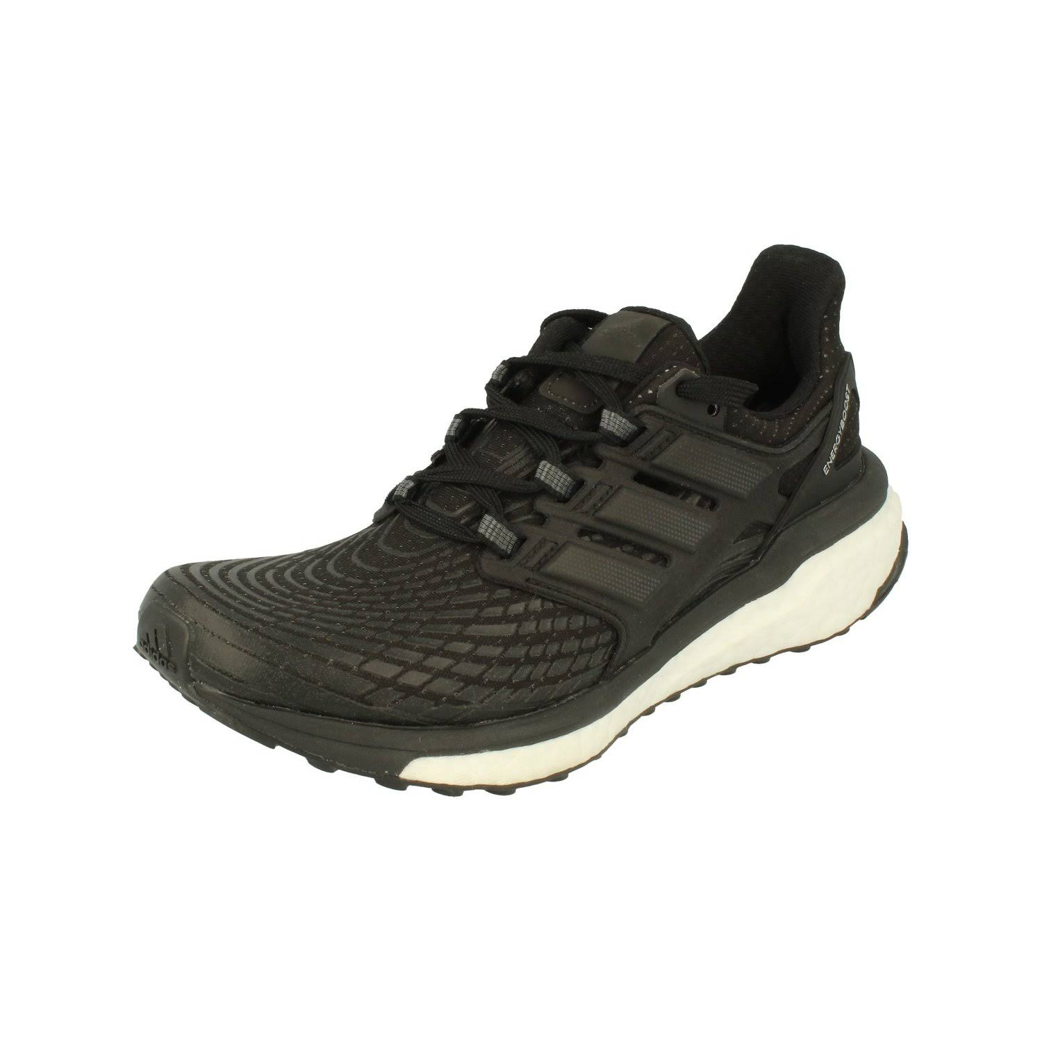(4 (Adults')) Adidas Energy Boost Womens Running Trainers Sneakers Shoes