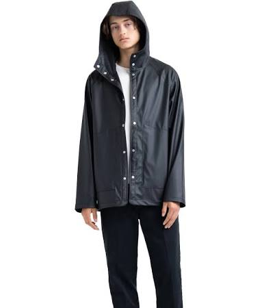 Supply Co Herschel Xl Logo Classic Rainwear Jacket Weiß Schwarz qHBB7xw