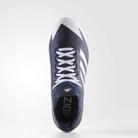 Größe Für 5 Afterburner Adidas Low Laufweiß 8 Silver College 4 Baseballschuh Metallic Navy Herren Metal nC0fqwC