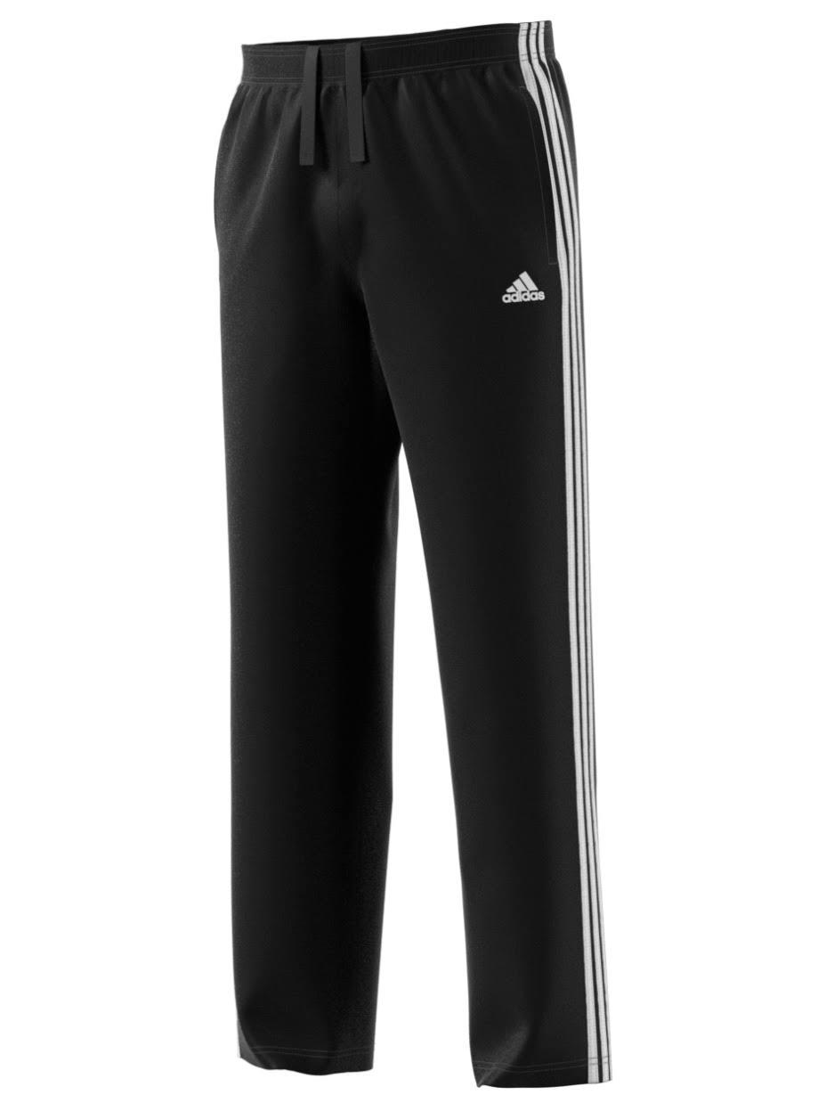 Nerobianco da in pile Fit Medium uomo adidas Regular Pantaloni 3 Regular Stripe UpSzMV