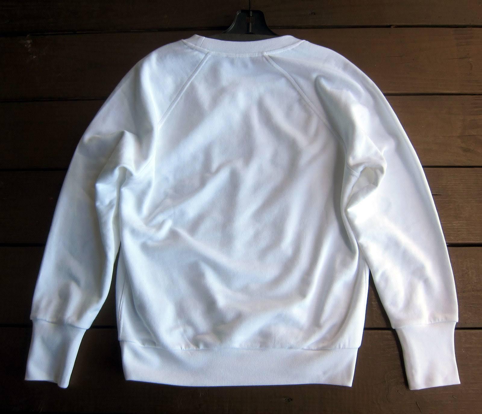 Blanco Sweater Burberry Tamaño Battarni Retro Mujer Para Logo Xs De qEE0wZ7