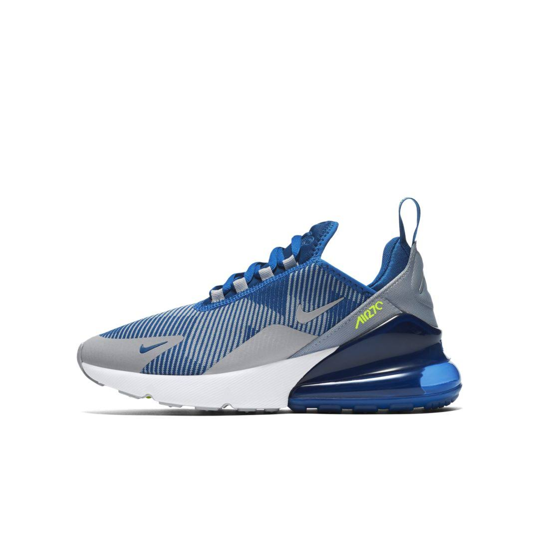 Jacquard Nike Size Shoe Blue 270 Max 7y Air gym xtUrwtRF