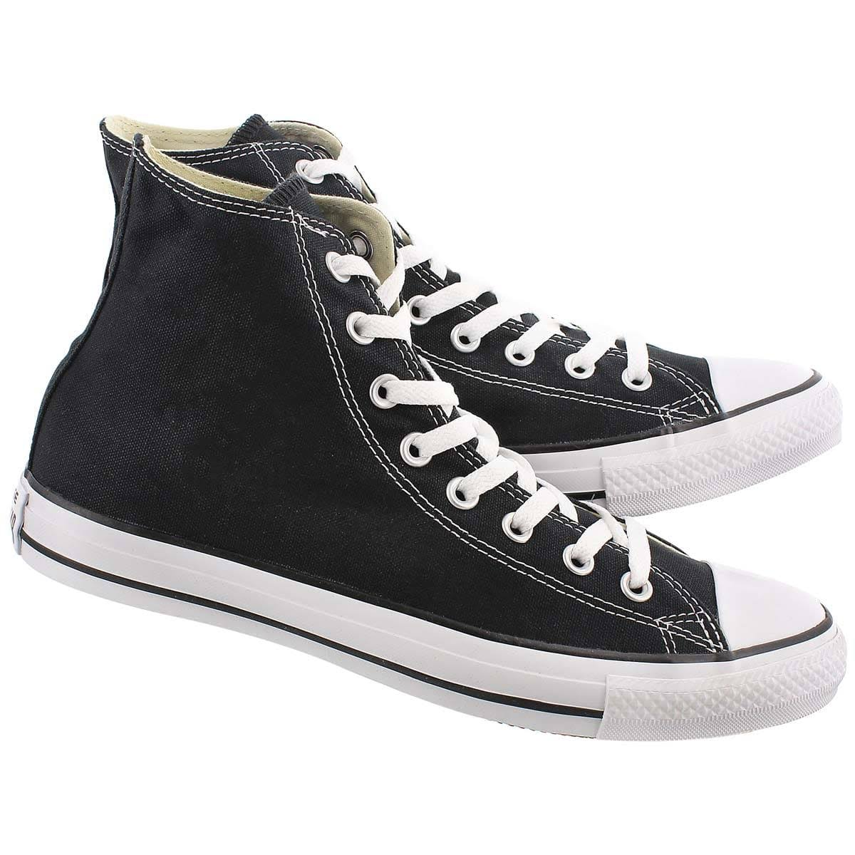 All Black Yellow Converse Star Hi CrBodxe