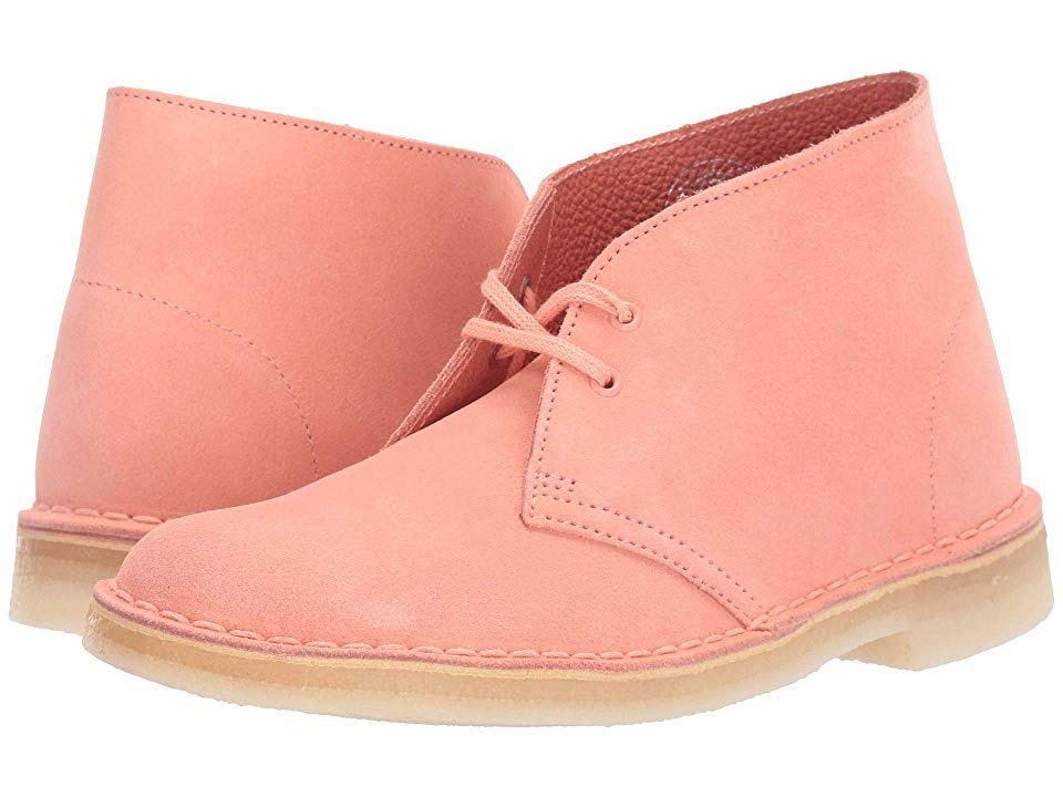 Suede8 0 Desert Coral BootWomen's Clarks Pk80Onw
