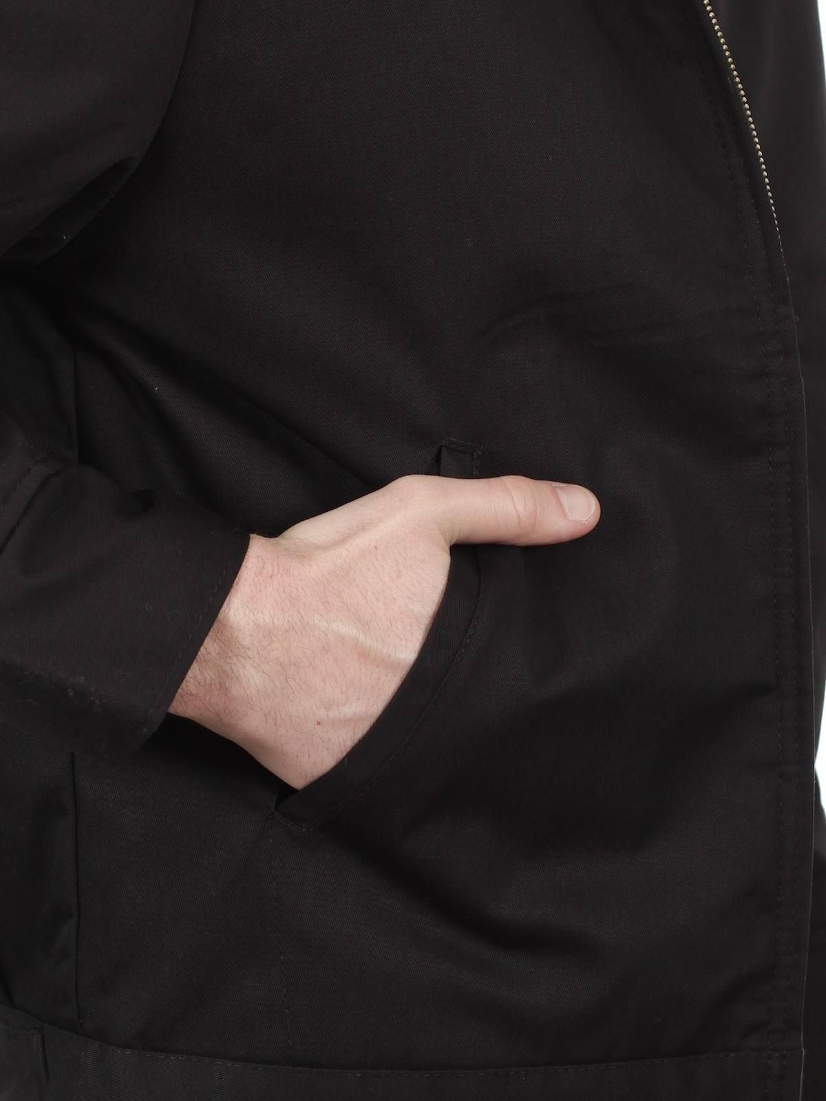 Schwarz Eisenhower Männer M Gefütterte Oz Dickies Jacke 8 Jt15 0wqxXC