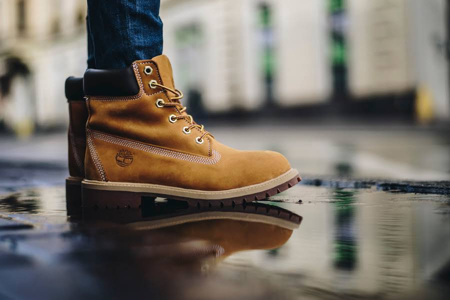 Premium Boot Nubuc Wheat Yellow Timberland 6 inch qwZn4ztE0
