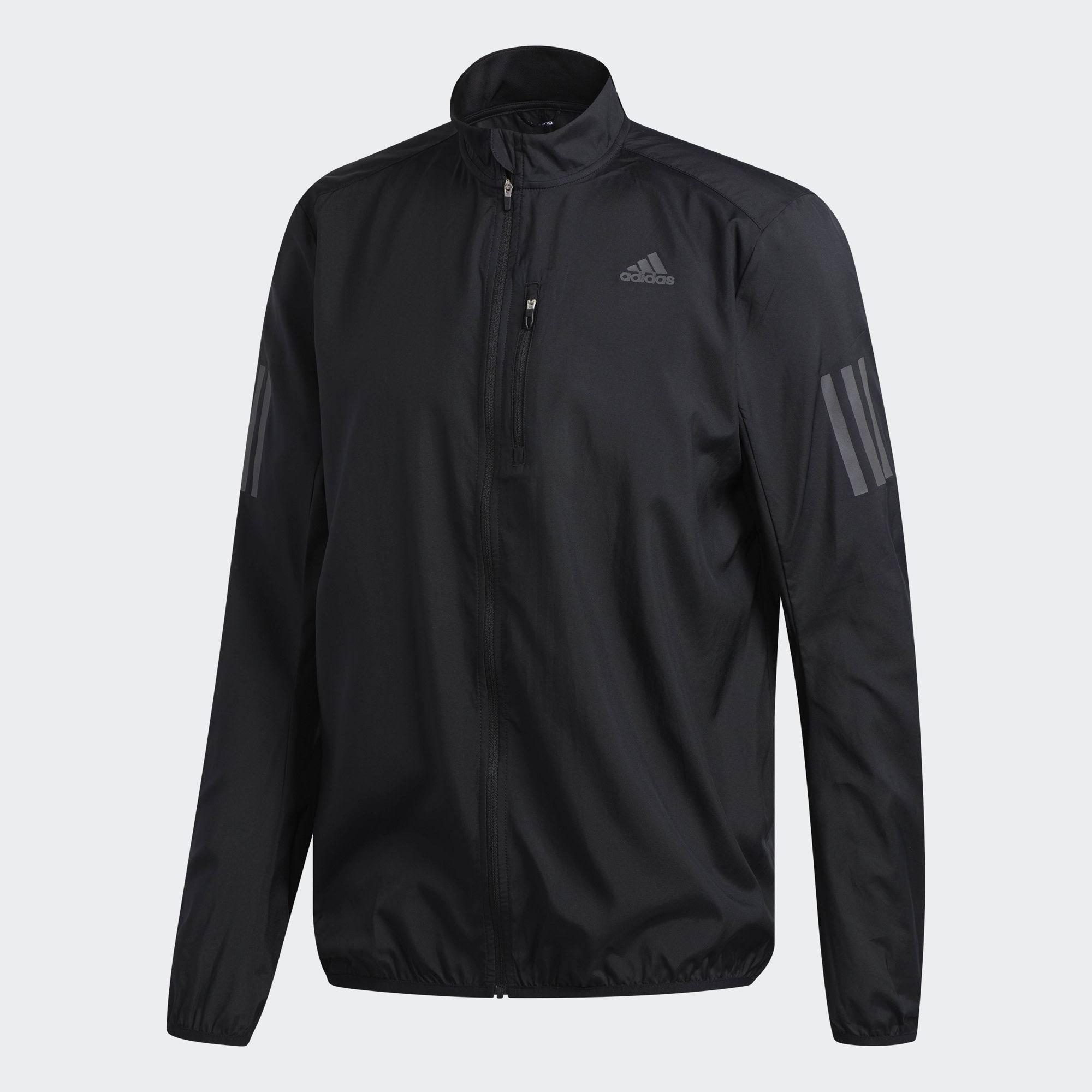 Men's Tamaño Negro Adidas Chaqueta Own Pequeño La Run Pqq4x6wd