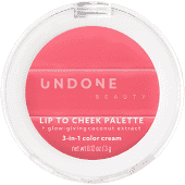 UNDONE BEAUTY Lip to Cheek 3-in-1 Cream Tint - Rosy - 0.12oz