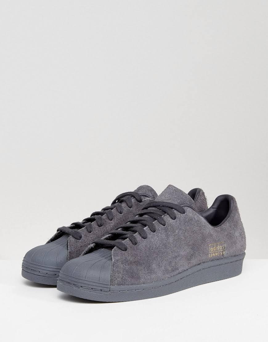Bz0566 Adidas Superstar Zapatillas En Originals Gris HXPn1q0