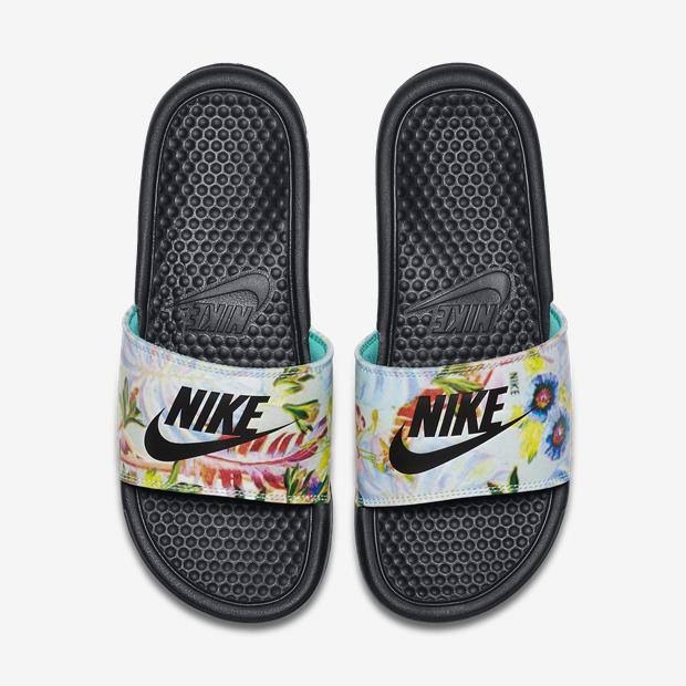 Prata Chinelo Do 33 It 'just Print 5 Feminino Benassi Nike F0qw7rOF