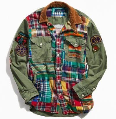 A Outfitters Chaqueta Polo M Cuadros Lauren Camisa Surtida Ralph Urban De En 6XxPXAn