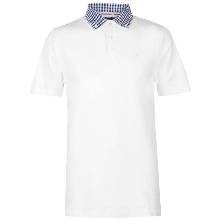 Größe Kangol Herren Poloshirt Kariertes Weiß Für Xl xIrI1FR