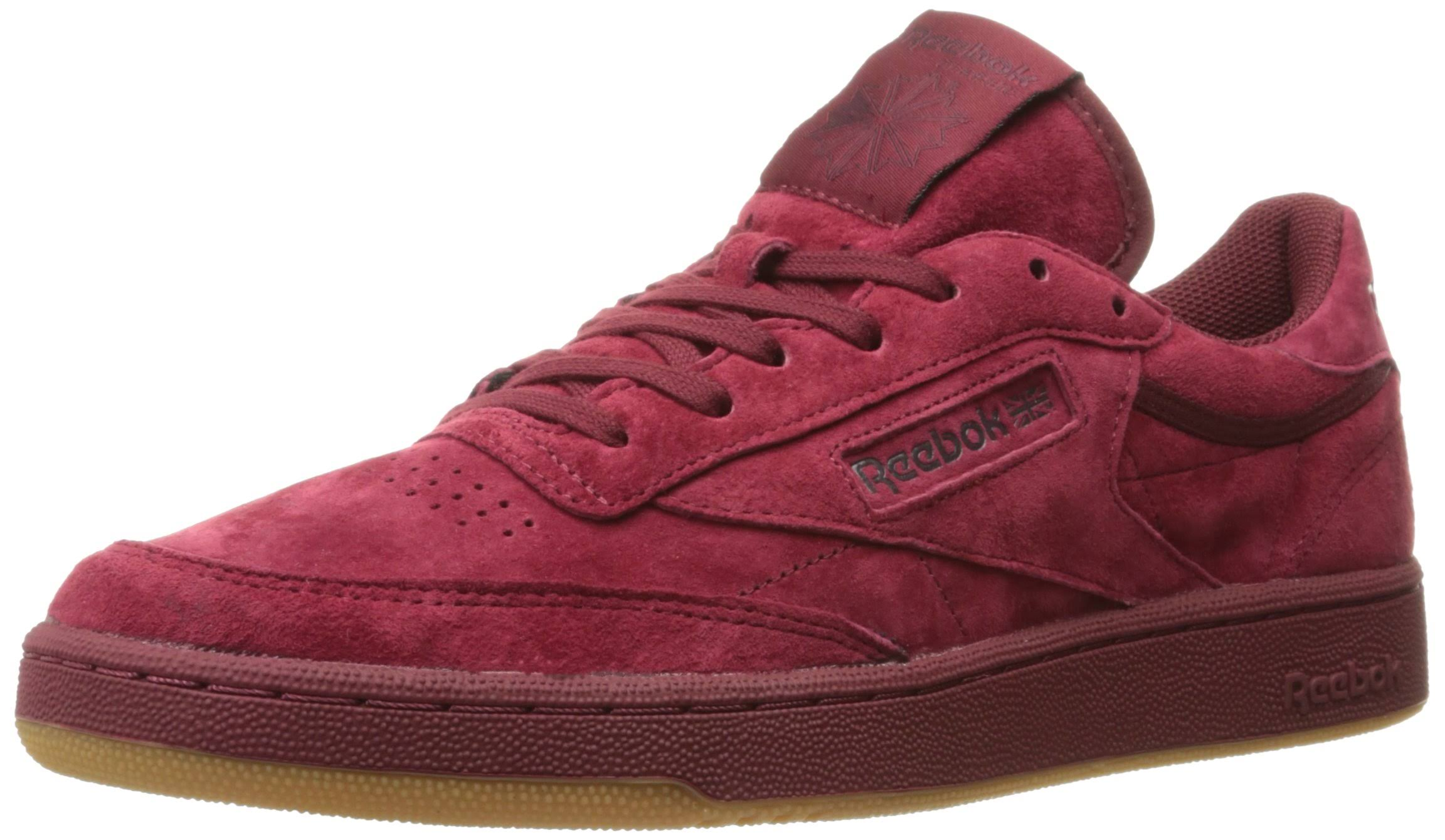 Reebok drak Club Sneaker Red Burgundy Tg Fashion 85 Men's C 1Rqwx1r
