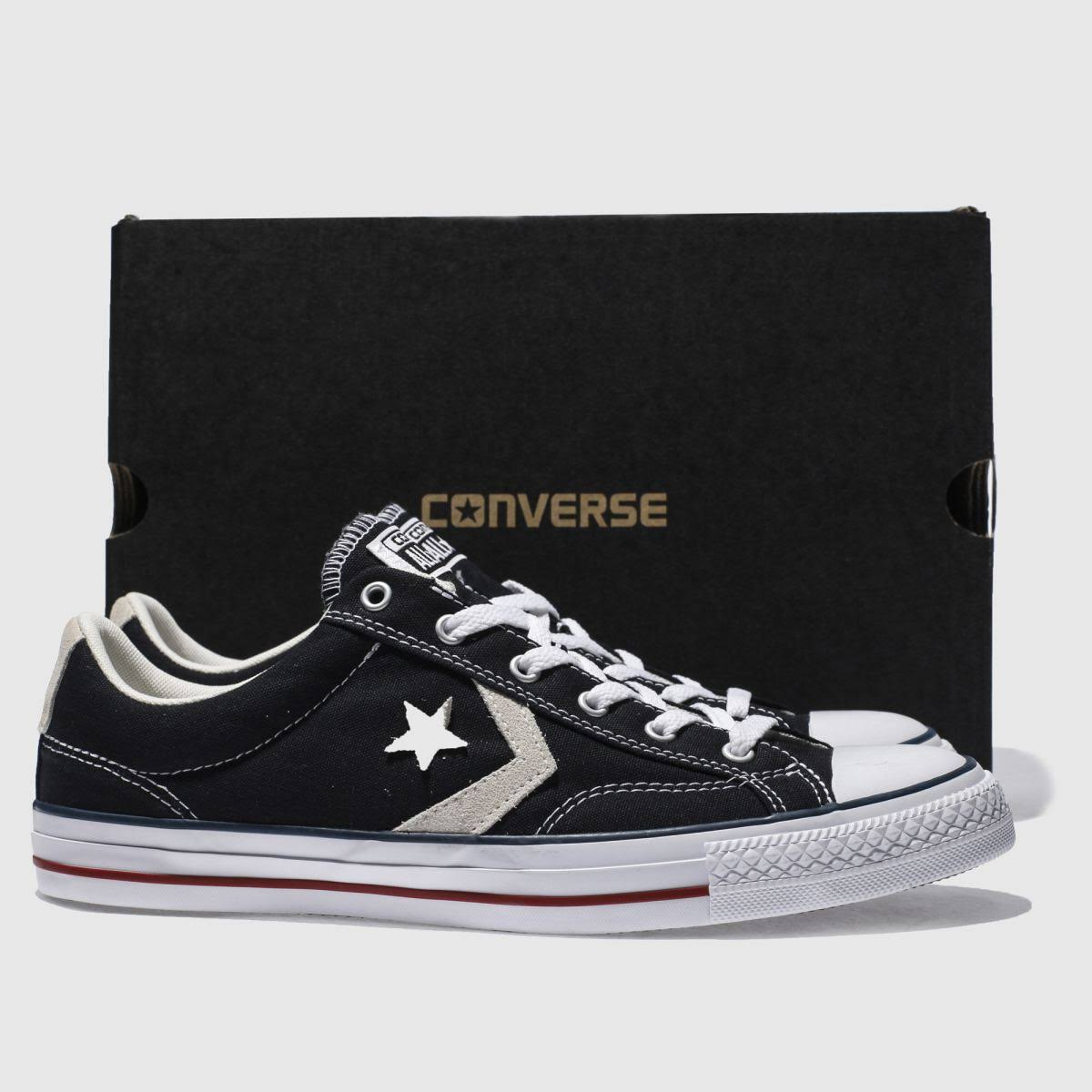 Ox In Star Black Converse Player RL4Aj53