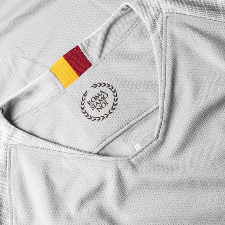 2018-2019 as Roma Away Nike Football Shirt