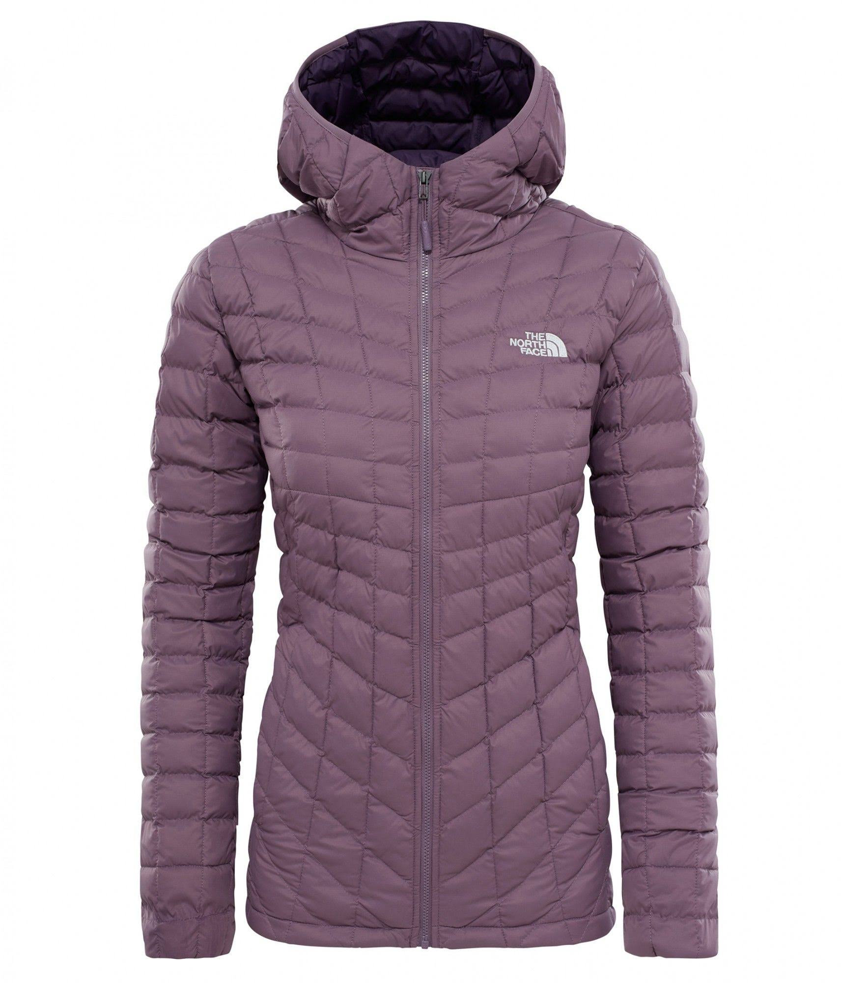 Plum North Con Para Capucha Thermoball Sudadera Black M Purple Mujer Face The pRYZnzxqw