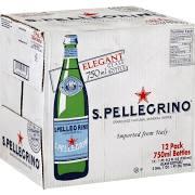 San Pellegrino Mineral Water, 12-Pack, 750ml - Sale Price Limit 4