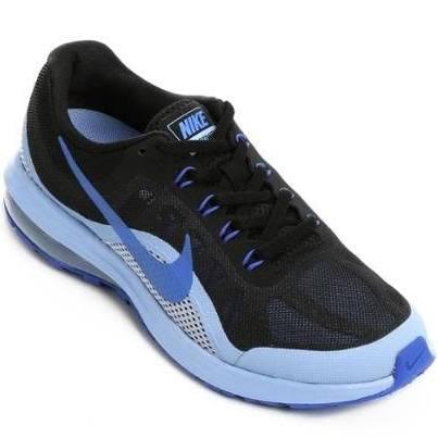 Max 2 Preto Tênis Azul Dynasty Nike Air Feminino 4WqSwSAxcn