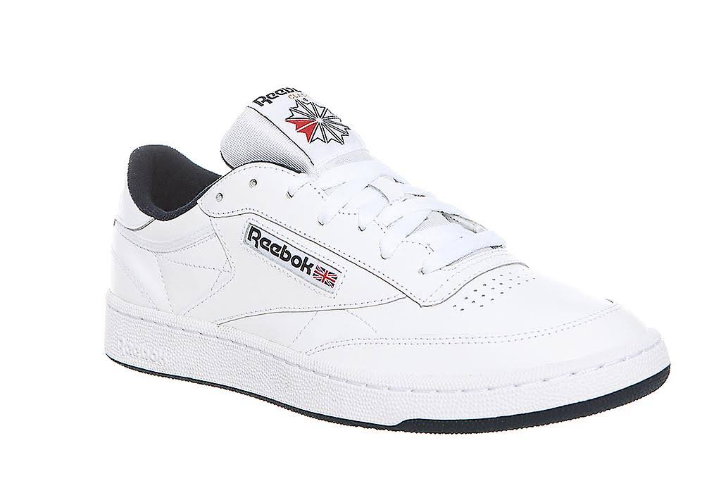 Echtleder Weiß Classic Sneaker C Marineblau Herren 85 Reebok Club amp; TaZPZq