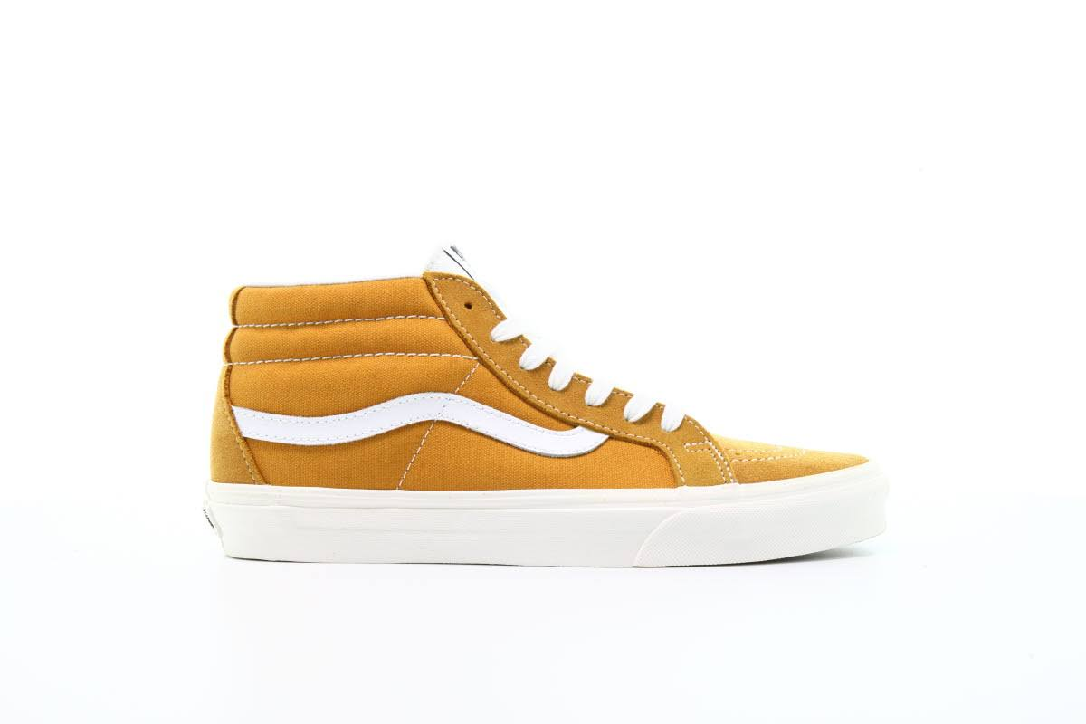 yellow Lace Sk8 Yellow up Reissue Casual Vans mid Shoes dqPAw0t7n