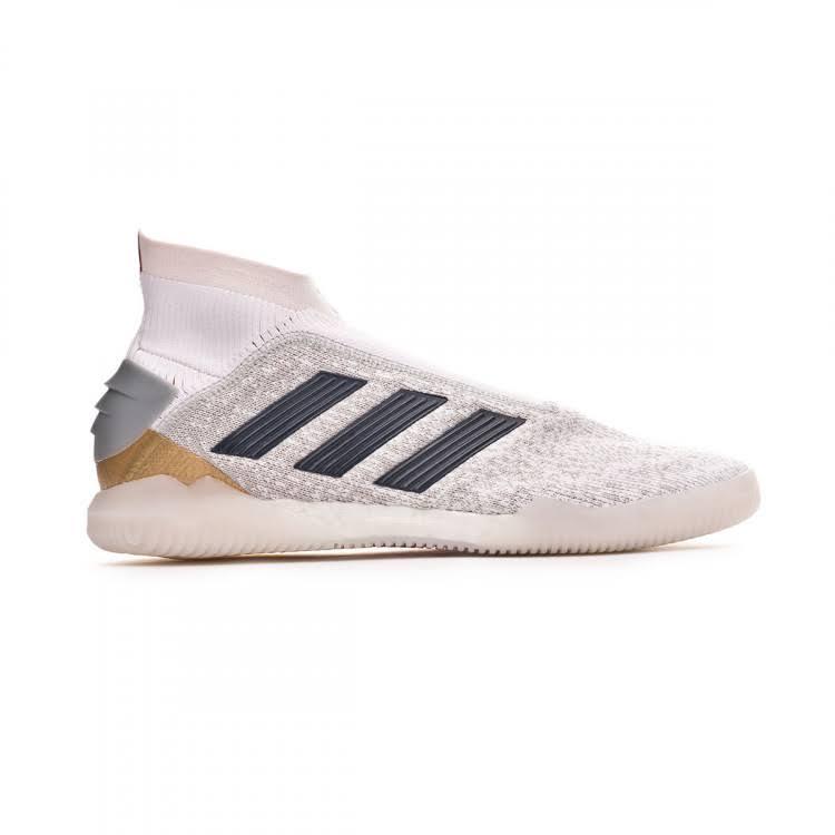 Adidas Predator 19  TR Zidane x Beckham White Silver Metallic Red
