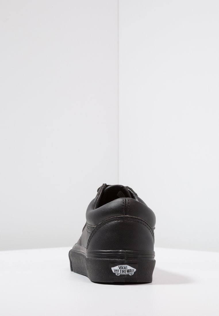 Nero Alta Finta Skool Pelle Vans Taglia Old Qualità Di Basse 41 Sneakers Black 4nx0qPU