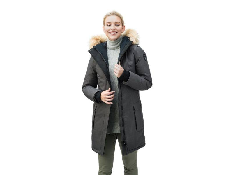 Parka Acero Gris se Extra Abby xs Abby chsteelgrey se Ch Pequeño Nobis Mujeres XwUEnYq