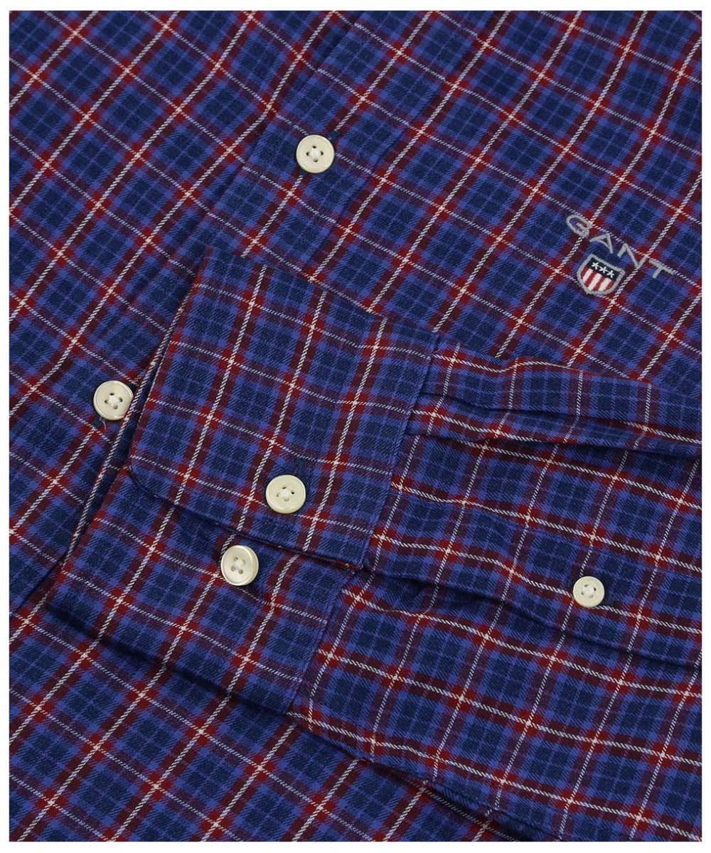Twill Reg Check Gant Vino Tp Invierno Hbd Camisa Para De Hombre Indigo wx0ZH1YRXq