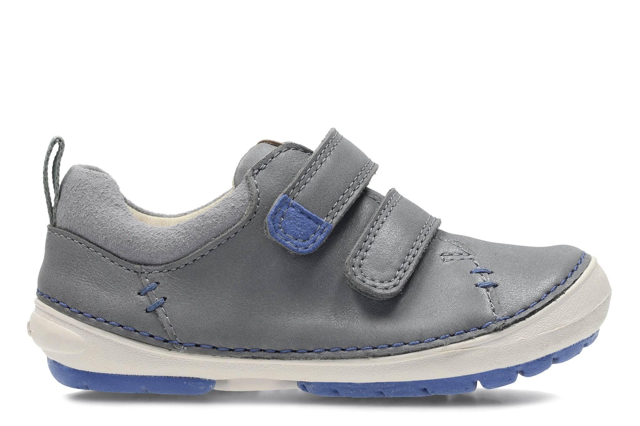 First lederen Clarks schoenen fit grijs 6 in Softly breed Toby maat ordxeCBW