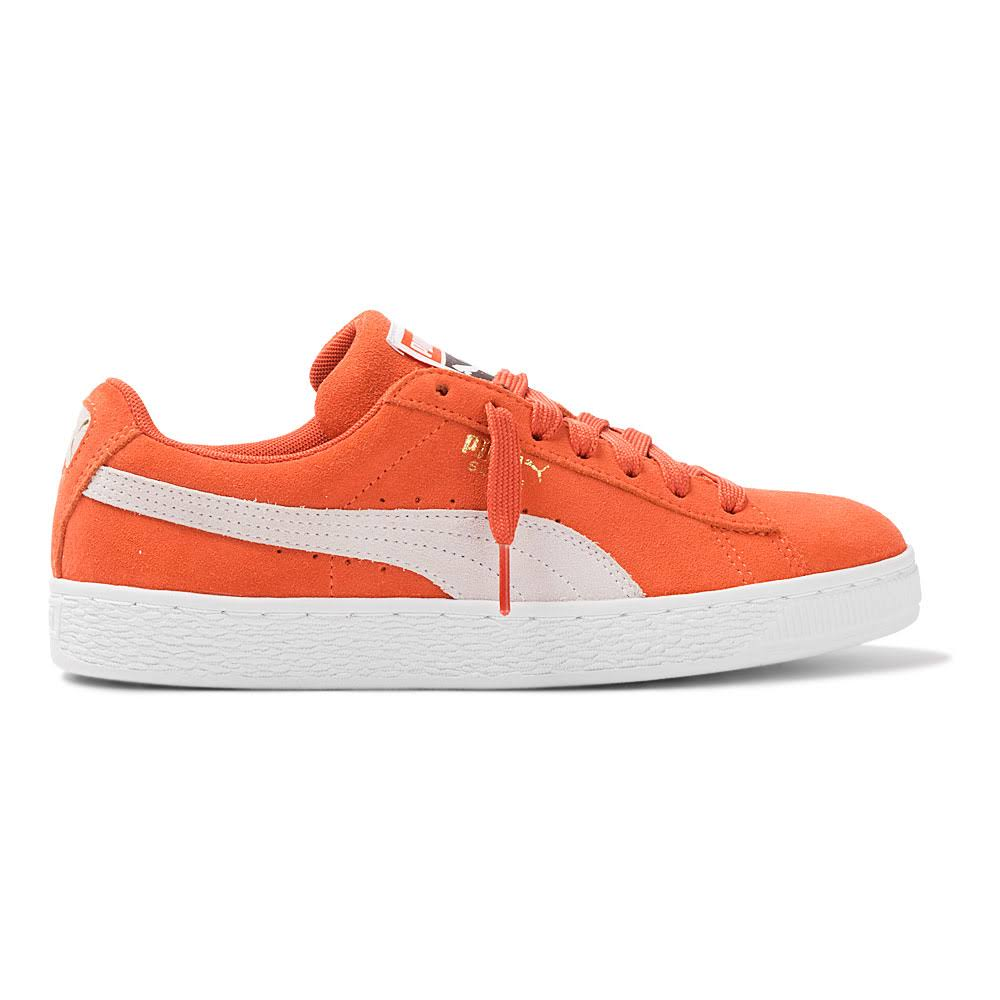 Suede Puma branco Vermelho Tênis Classic BXp5qxzqw8