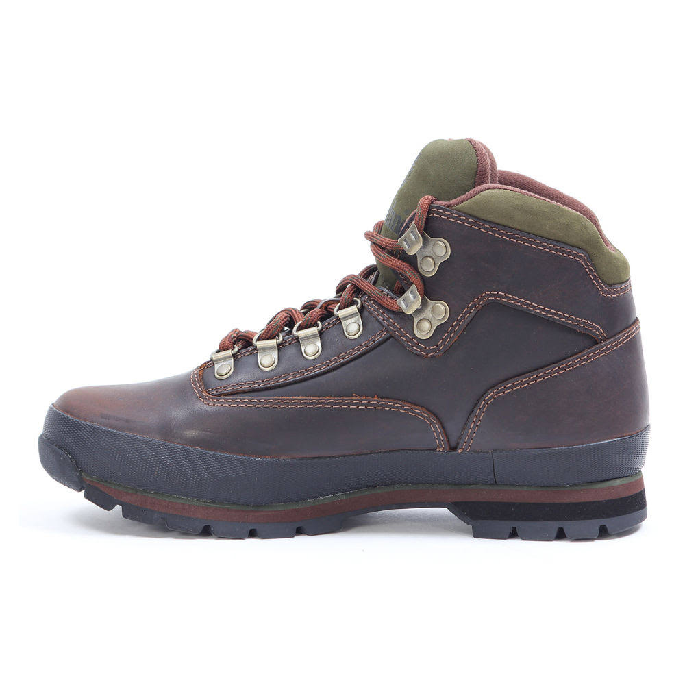 43 Bota Timberland Leather Hiker Euro Marrom xAq64