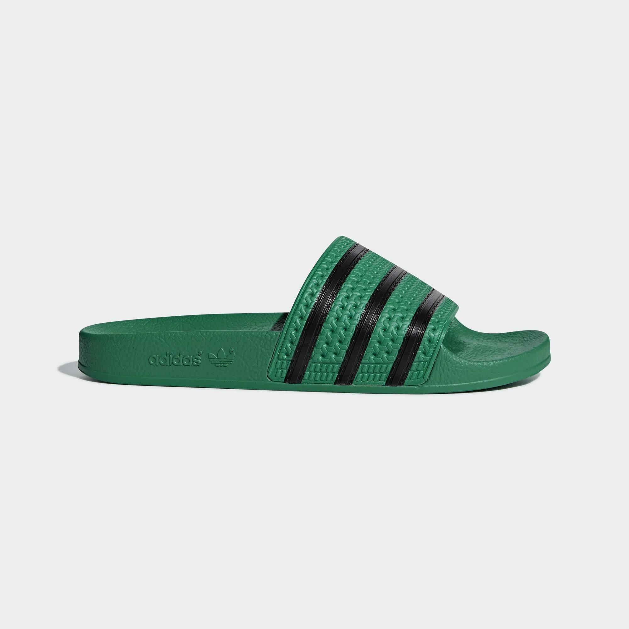 Adidas Cm8443 Adilette cblack Bgreen Schwarz Grün Pantoletten bgreen OqTc4TS