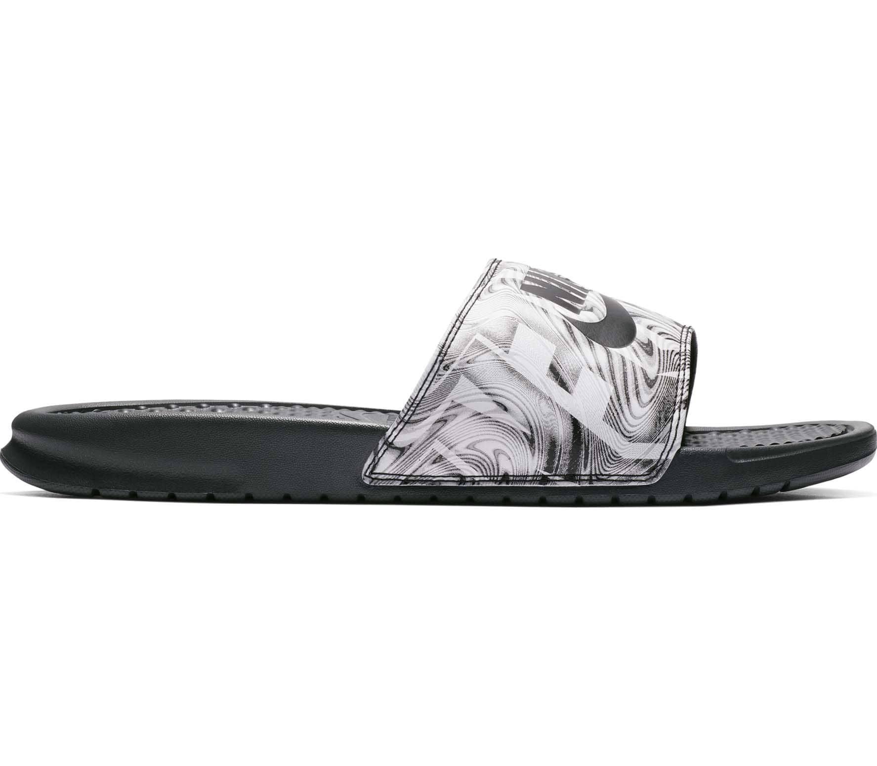 Anthrazit schwarz Schwarz Jdi Benassi Nike badeslipper Printed Herren Ypx1q0
