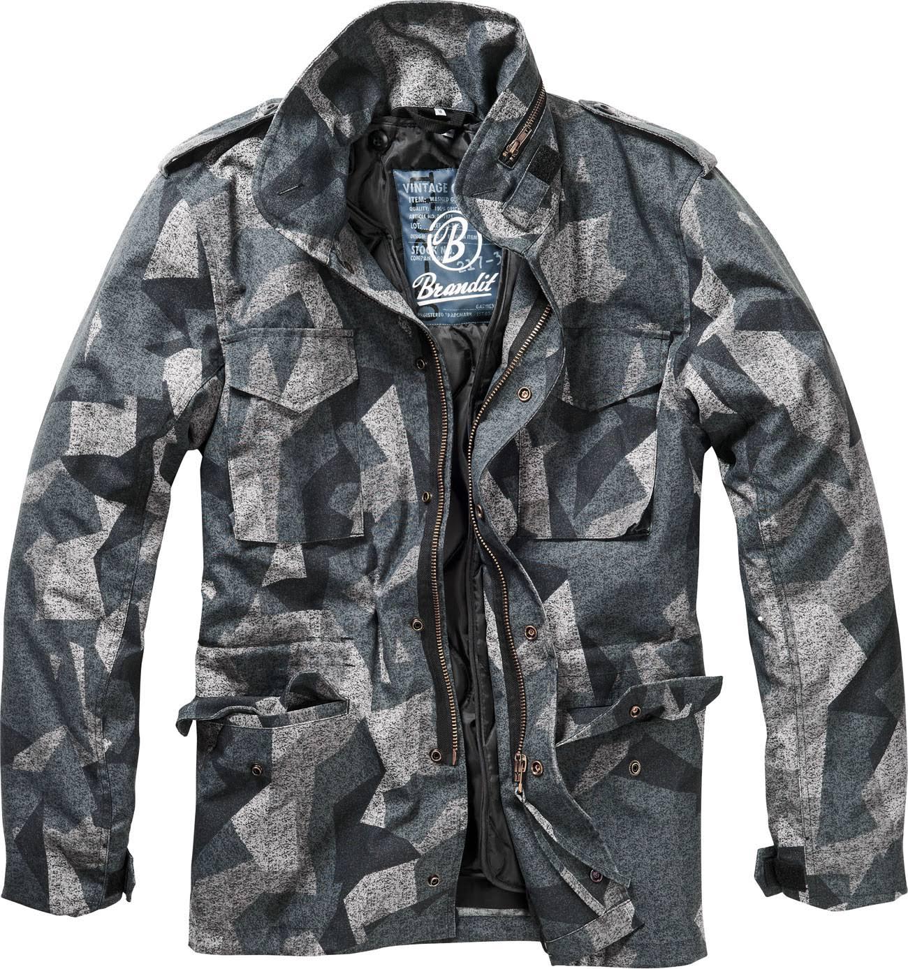 Xxl Regular Textil 65 Brandit Darkcamo Chaqueta Hombre Para Clásica M FnwxWxT1q