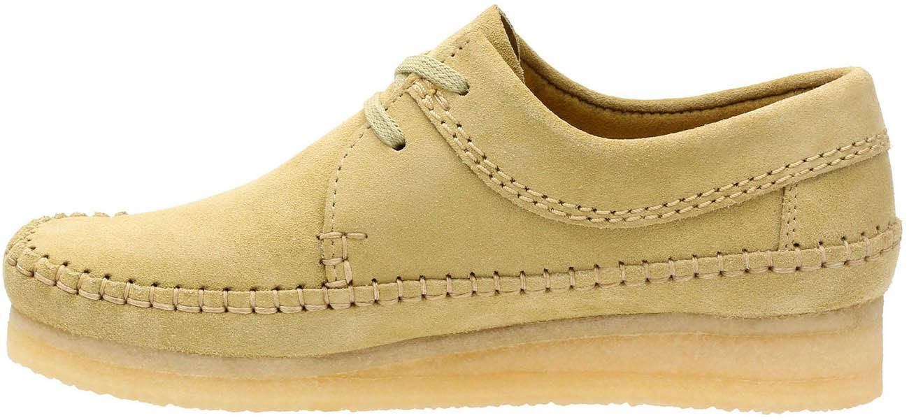Maple Suede Clarks Womens 8 Maat Weaver ED2WI9H
