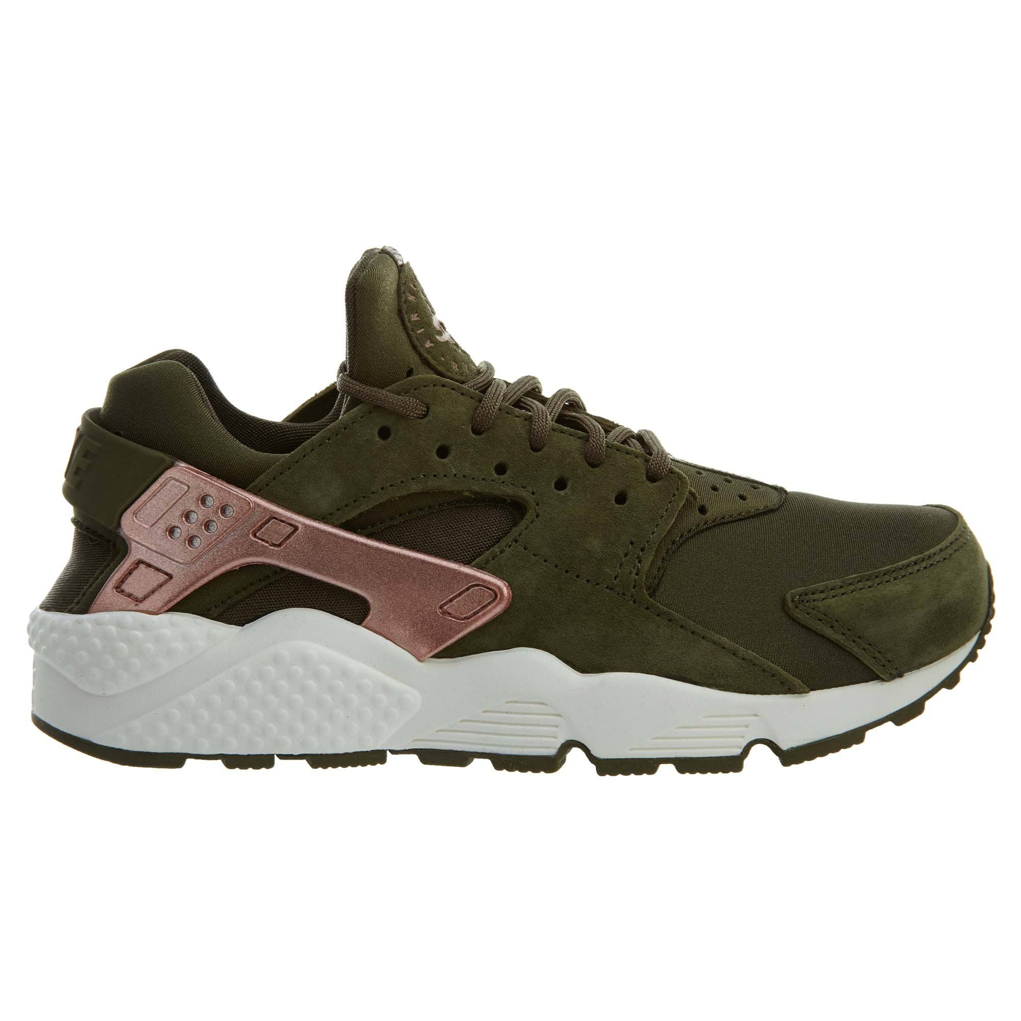 Womens Huarache metallic Nike Canvas Olive Gold Rose rust At5700 Run Pink Air Style q4q5tOx