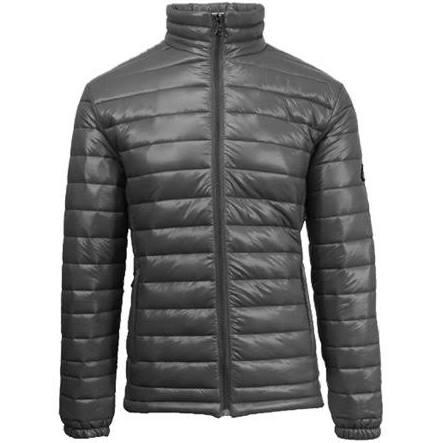 Jacket Größe Medium Bubble Puffer Lightweight Grau Herren orange Gbh qXpIY