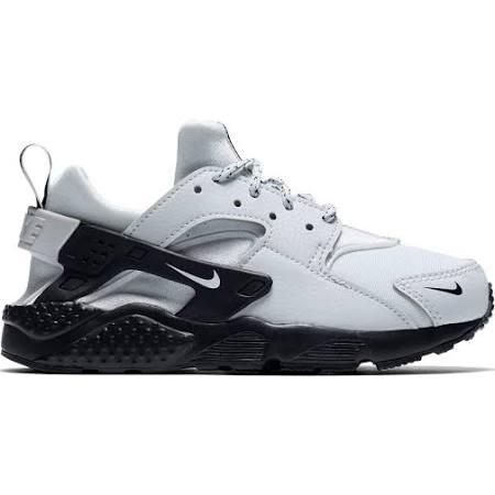 Nike Przedszkolnym Huarache Wieku Czarny Dzieci Biały Pure Dla Run W Szary Buty Platinum fawf0