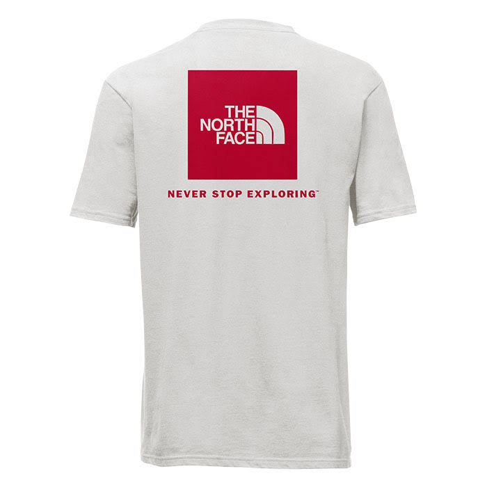 T Rot Herren shirt Box The Red Kurzarm North Tnf Schwarz Face FWqnUCY