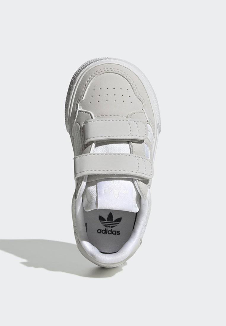Adidas Continental Vulc Shoes - Kids - White  XPoWmOd