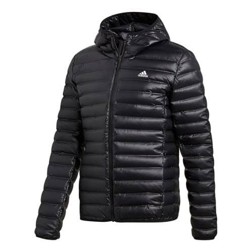Con Xl Down Varilite Capucha Negro Chaqueta Adidas 5qY1t1