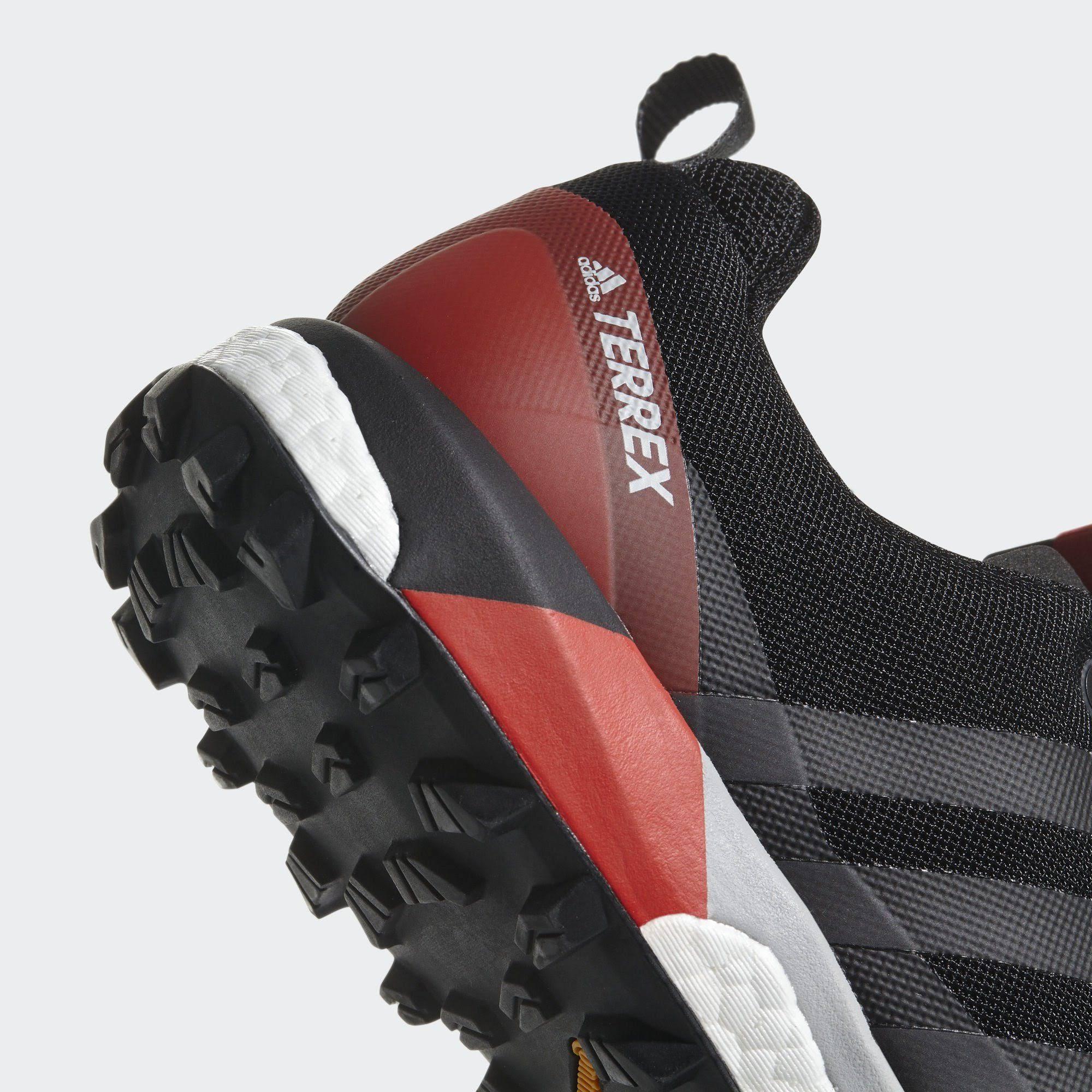 2 Terrex 42 Outdoorschuh Performance 3 schwartz Rot Adidas Schwarz Agravic Black YBwRg