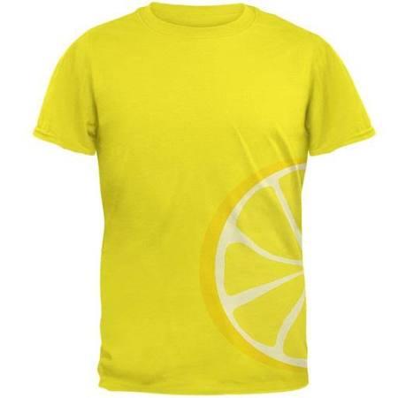 Glory Lemon Hombre Para Old Camiseta Costume Slice Amarillo Mediano Tamaño fHqTtxnw1