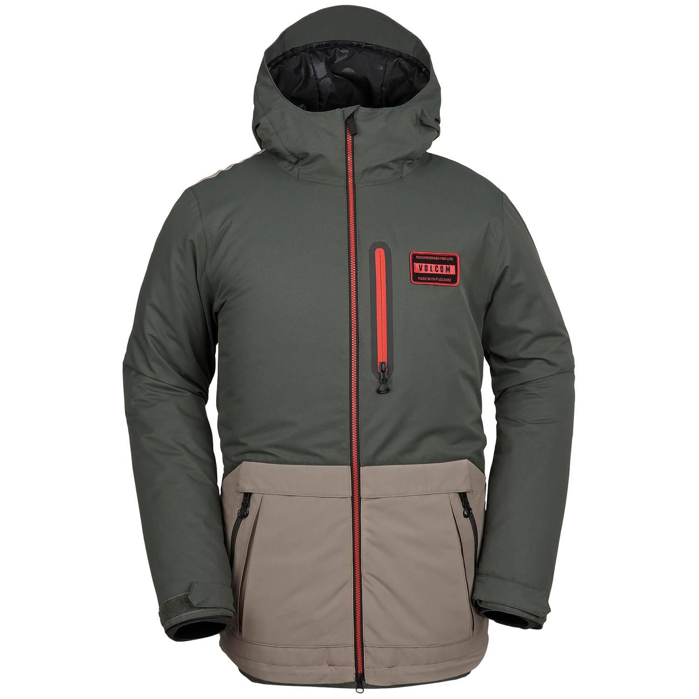 Xs Grün Jacket Volcom Analyzer Insulated Herren Schwarz xwPpZTpqU