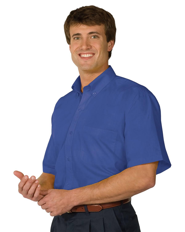 Azul 1245 Francés Camisa Popelín Men Manga Corta Edwards 2xl ZvwxTqpYTa