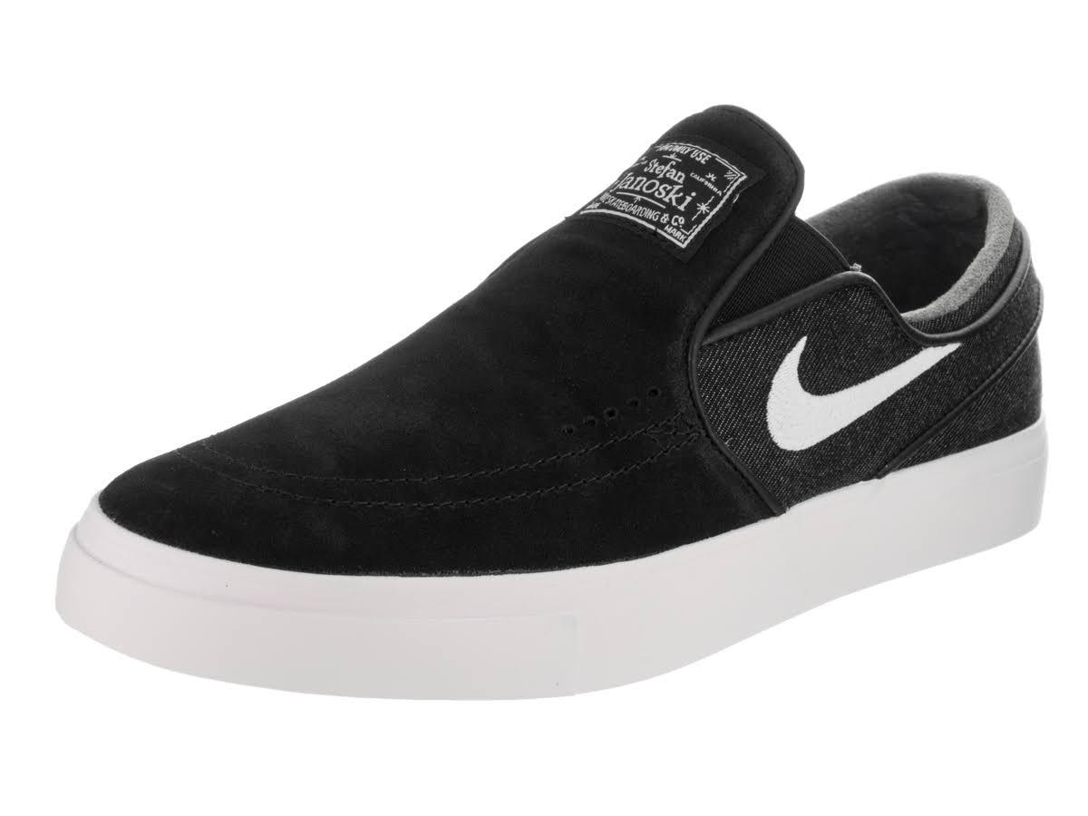 Janoski Stefan Zoom 12 Nike Herren Schwarz 0 Weiß Slipschuh EROqdw5q