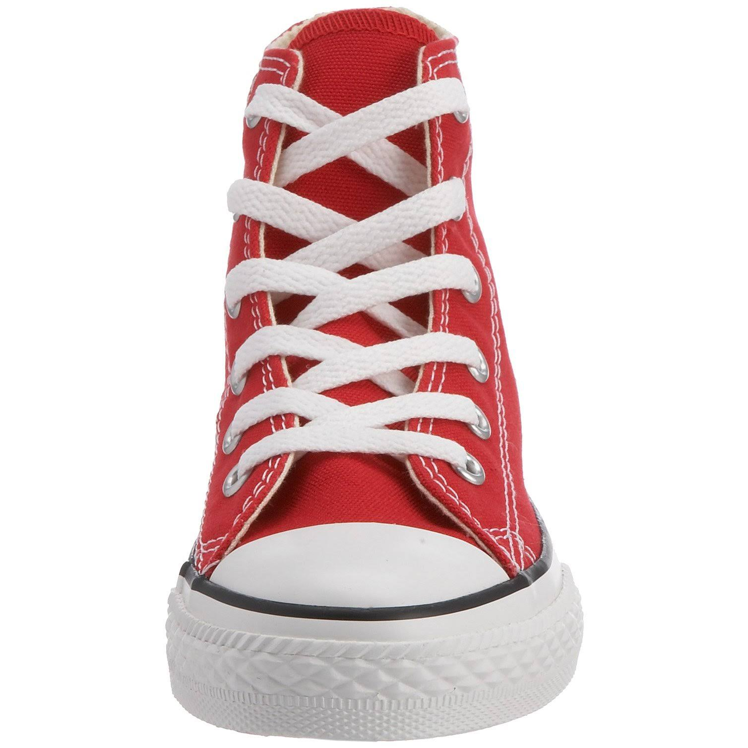 Star Red Hi Top Chuck All Taylor Converse Kids iZPXku