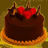 Glazovaný dort