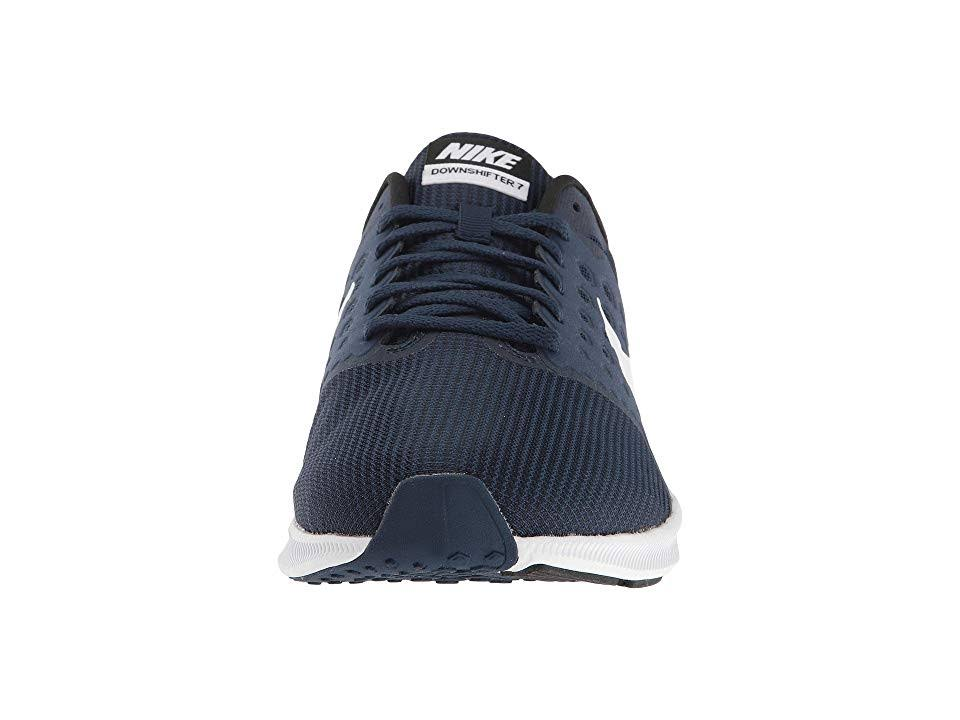 Herren Downshifter 7 Weiß Laufschuhe Nike Dunkelblau 17zZanwzq
