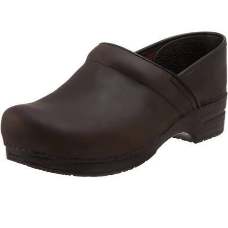 Anchas Pro Dansko Zapatos 44 Zuecos 299780202 Engrasado W Para Antique Hombre Cuero Marrón wx1qIXqr